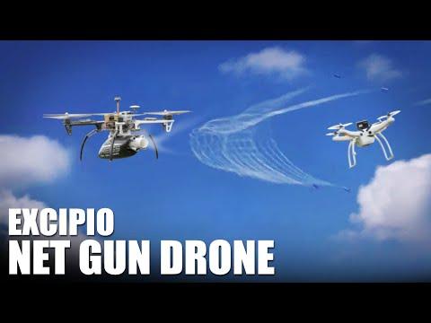 Net Gun Drone Excipio Flite Test