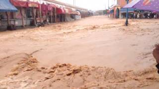 فيضانات مدينة تزنيت