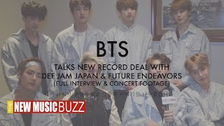 BTS Talk New Record Deal With Def Jam Japan and Future Endeavors (FULL INTERVIEW)