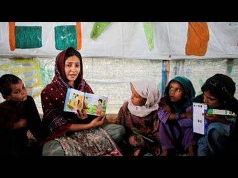 UNICEF supports essential services in Jalozai Camp, Pakistan