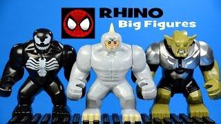 LEGO Spider-Man's Fearsome Foe RHINO KnockOff Big Minifigure