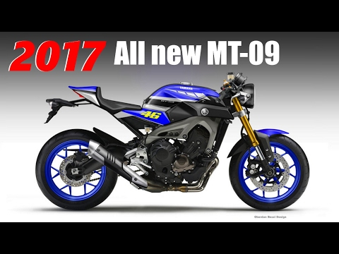 2017 All new Yamaha MT-09, The