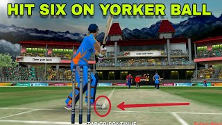 WCC2 HIT SIX ON YORKER BALL ||