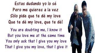 Andas En Mi Cabeza Lyrics English and Spanish - Chino y Nacho ft. Daddy Yankee - Translation/Meaning