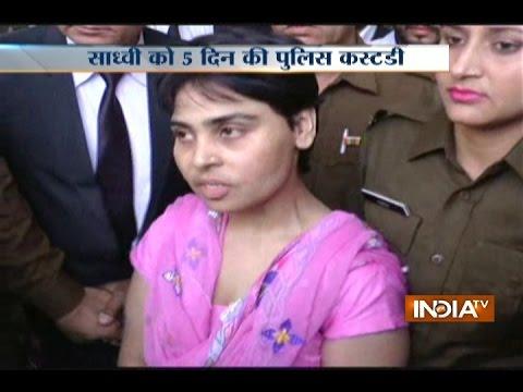 Xxx Mp4 Sadhvi Deva Thakur Sent To Five Day Police Remand 3gp Sex