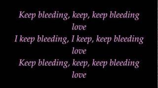 Leona Lewis - Bleeding love - lyrics