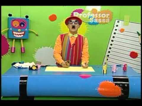 Bichinhos com rolo de papel Artesanato Professor Sassá Acrilex