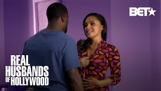 Kevin And Nia Can't Get Busy With Robin Thicke Interrupting | Real Husbands of Hollywood