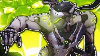 ULTIMATE NINJA! Genji GAMEPLAY! Overwatch ONLINE Gameplay! Overwatch: Beta