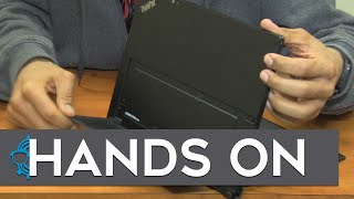 Lenovo ThinkPad X1 Tablet Hands On!
