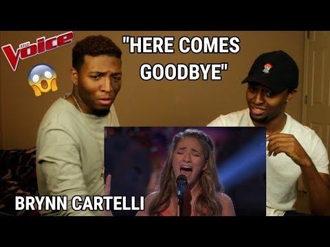 """The Voice 2018 Knockout - Brynn Cartelli: """"Here Comes Goodbye"""" (REACTION)"""