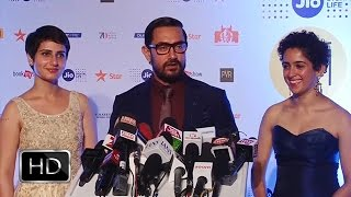 Aamir Khan Promoting Dangal At 18th MAMI Mumbai Film Festival 2016