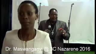 Dr Maswanganyi at 3C Nazarene