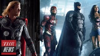 Marvel vs. DC: Behind Their Fight for Comic Supremacy | THR News
