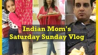 Indian Mom's Saturday Sunday Vlog / Banjo, Inorbit Mall, Shopping | Indian Mom on Duty