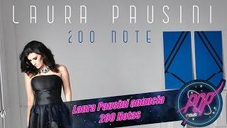 Laura Pausini anuncia 200 Notas