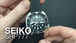 Seiko SRP777 Turtle Watch Review - the new SKX