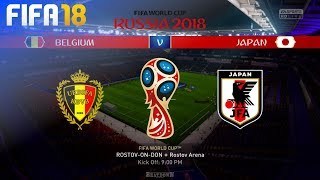 FIFA 18 World Cup - Belgium vs. Japan @ Rostov Arena