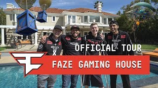 FaZe Gaming House - Official House Tour