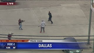 Police Chase:  suspect thinks he