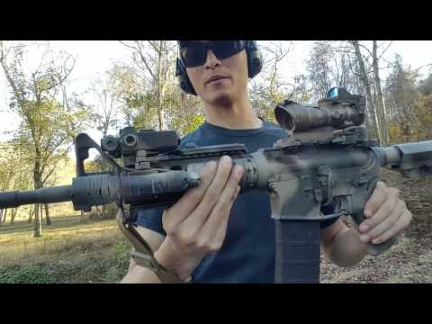 Docter review & considerations to make with a dot ontop of an acog.