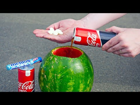 5 CRAZY EXPERIMENTS With Coca Cola