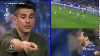"""Álvaro Benito: """"En los últimos años Cristiano ha sido más eficaz que Messi"""""""