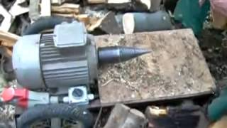 interesting wood cutting machine