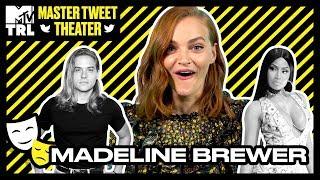 Madeline Brewer Nails Her Kristen Stewart & Ann Dowd Impressions! | Master Tweet Theater 🎭