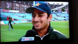 Saeed Ajmal funny interview No. 2