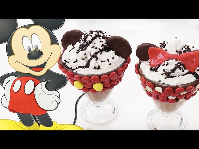 Mickey and Minnie Milkshakes | Dishes by Disney