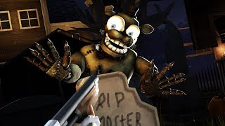[SFM FNAF] Curse Of Dreadbear Halloween Update Counter Jumpscare Fails and Cheating Animated