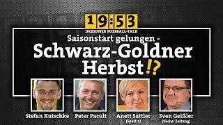 1953 - Saisonstart gelungen - Schwarz-Goldner Herbst!?