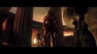 Hercules 2014 (HD) - Dwayne Johnson Final Statue scene