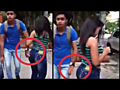 Boy Touching Girl's Ass Prank | Boy Touching girl Ass in india Prank | Prank in India | Viral Prank