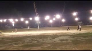Cricket match organised at gonda of Uttar Pradesh