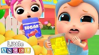 Yes, Yes Lemonade   Little Angel Kids Song & Nursery Rhymes
