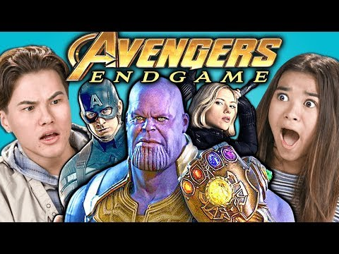 Xxx Mp4 Teens React To Avengers Endgame Trailer Amp Easter Eggs 3gp Sex