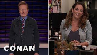"Conan Checks Back In On Sona's ""Friends"" Marathon - CONAN on TBS"