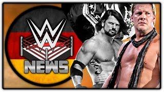 Wird AJ Styles verletzt ausfallen? Wann verlässt Jericho WWE wieder? (Wrestling News Deutsch/German)