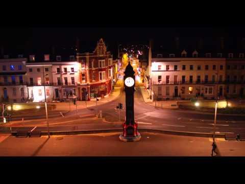 Weymouth By Night Filmed with dji inspire pro