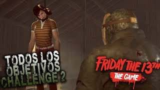 LA NOCHE DE LOS TORTOLITOS - FRIDAY THE 13th THE GAME/CHALLENGE #2