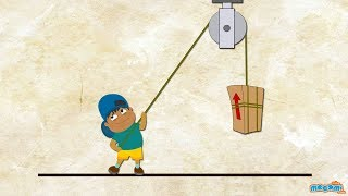 What is a Pulley? - Simple Machines | Science for Kids | Educational Videos by Mocomi