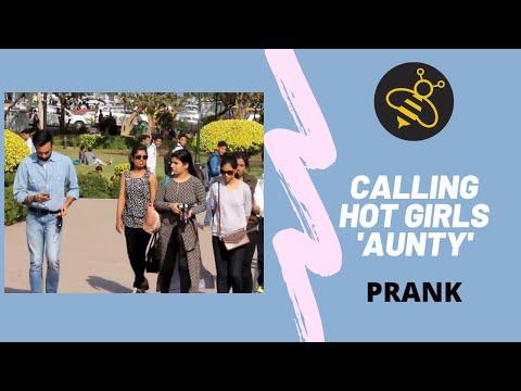 Calling HOT Girls 'AUNTY'  Prank | Real Indian Prankster | RIP