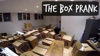BOX PRANK ON ROOMMATE