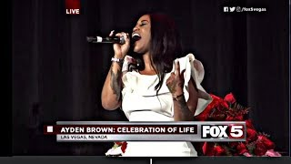 Ayden Brown's Homegoing - Performances Jhonni Blaze from Growing Up Hip Hop