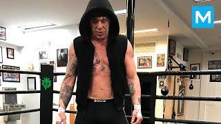 Mickey Rourke Train Like a BEAST | Muscle Madness