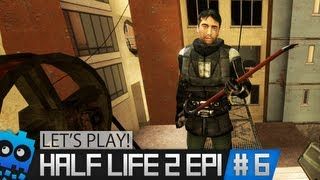 Let's Play Half Life 2 Episode 1 - Part 6 - No Mercy Hospital!