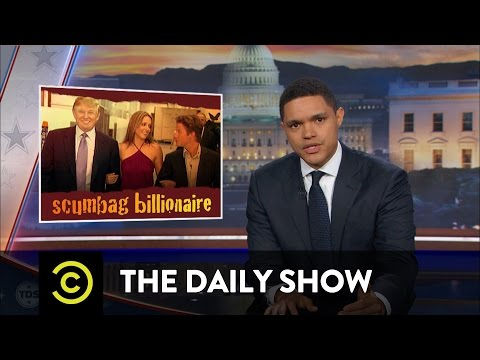 Fallout from Donald Trump's P***ygate Scandal: The Daily Show