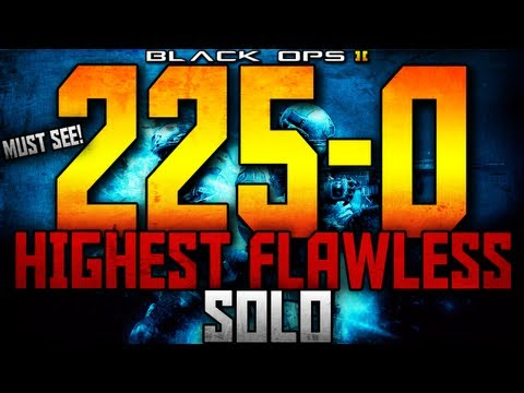 225-0 WORLDS HIGHEST SOLO FLAWLESS ON BLACK OPS 2!